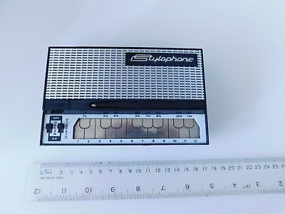 Vintage 1970's STYLOPHONE by Dubreq working good condition complete with stylus