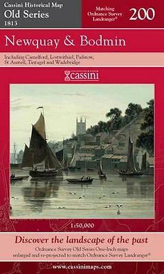 Newquay & Bodmin.Cassini Ltd.Old Series(Sht map,folded,2007)NEW.End Of Stock!