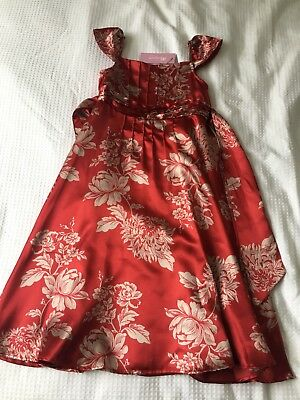 Monsoon Party Dress Age 5-6 Years