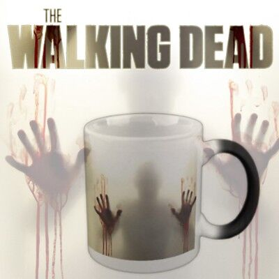 Keramik Kaffeetasse Becher Farbwechsel Teetasse zum The Walking Dead Zombies