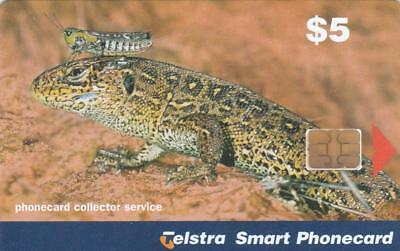 Telstra  Collector Service  Cricket And Lizard  Perfect Mint  H95