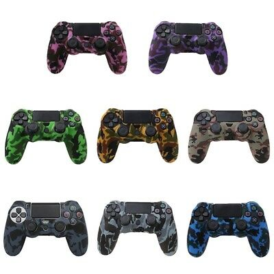 Silicone Rubber Case Cover Skin for PS4 Dualshock 4 Controller UK Seller