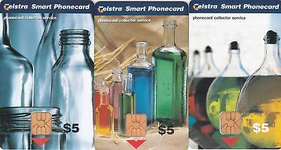 Telstra  Collector Service  Bottles Scarce  Perfect Mint  H98