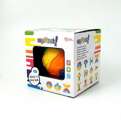 Stacking Ball Puzzle Activity Baby Toy Chunky Construction Pieces 12m+
