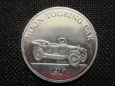 Sunoco DX Franklin Mint Antique Car Coin Series 2 1917 Moon Touring Car