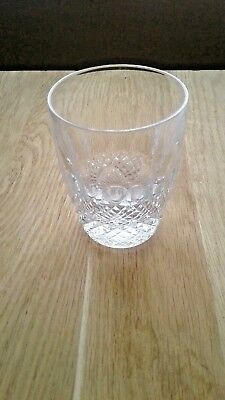 Waterford Crystal Small  Tumbler Colleen Pattern Vgc