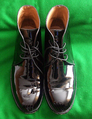 Genuine Army issue Mess Dress GoodYear Welted Boots Size 8