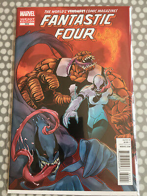 "Fantastic Four #602 - 1:50 variant - Andrasofszky ""Venom"" cover"