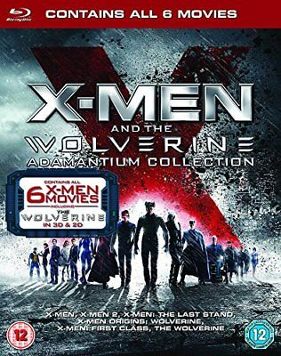 X-Men And The Wolverine Adamantium Collection [Blu-ray] [2013] -  CD OQVG The