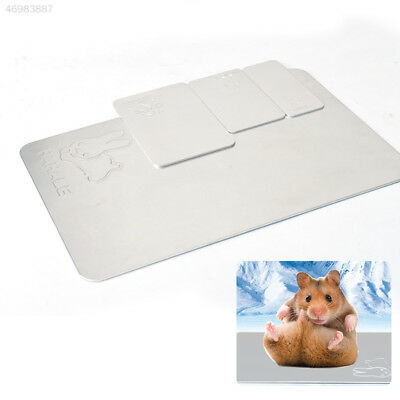 E4DC Pet 1PCS Radiating Plate Ice Bed Mat Cold Cooling Ice Pad 8FFE