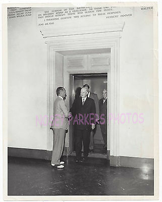 Herbert Hoover Institution Stanford University Dr. HH Fisher Press Photo 8X10