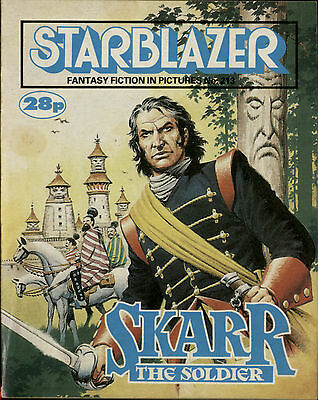 Skarr The Soldier,starblazer Fantasy Fiction In Pictures,no.213,1988,comic