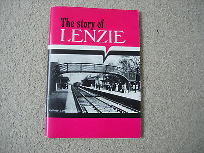 The Story of LENZIE,Dunbartonshire-1989 Booklet-loads of old pictures!!