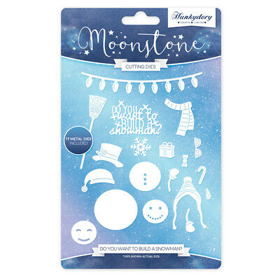 Hunkydory - 'Do You Want To Build A Snowman' Die Set - From the Moonstone Range