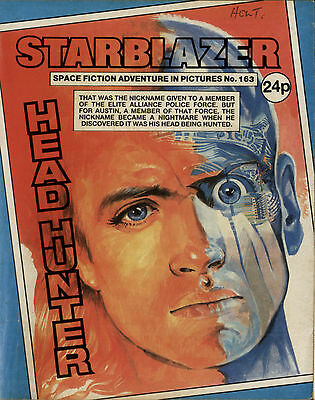 Head Hunter,starblazer Space Fiction Adventure In Pictures,no.163,1986