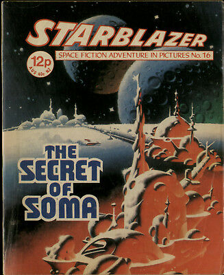 The Secret Of Soma,starblazer Space Fiction Adventure In Pictures,no.16,1980