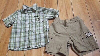 Boys size 18 months shorts outfit