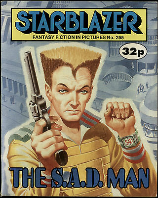 The S.a.d. Man,starblazer Fantasy Fiction In Pictures,comic,no.255,1989