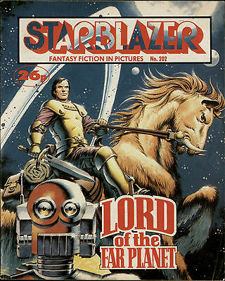 Lord Of The Far Planet,starblazer Fantasy Fiction In Pictures,no.202,1987,comic