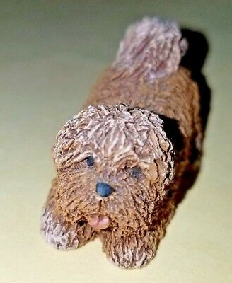 """snuffles"" M. Root 1997 God Is Love Dog Figurine Martha Holcombe New Adorable"