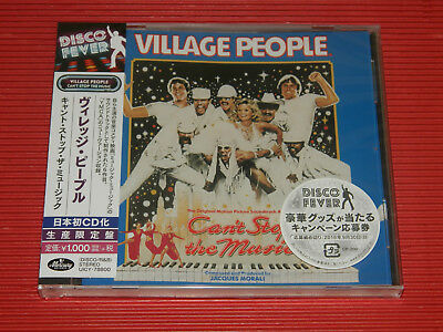 2018 DISCO FOREVER VILLAGE PEOPLE Can't Stop The Music JAPAN CD