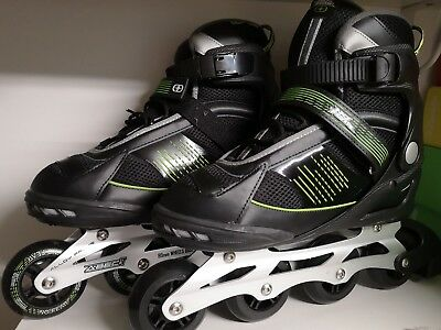 Brand New No Fear Mens Inline Roller Skates Blades UK Size 11