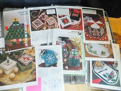 Christmas / Xmas / Winter Toppers, Boxes, Place Mats, Containers PC Patterns