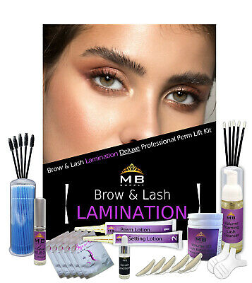 DELUXE Eyelash Eyebrow LAMINATION Keratin Lifting Kit, Perming Kit, Curling Kit