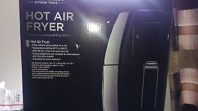 Silver Crest Digital Hot Air Fryer 2.3L