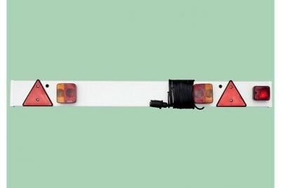 Maypole 4` Trailer Lighting Board with Fog light & 6 Meter Cable 7pin 245P4F6M