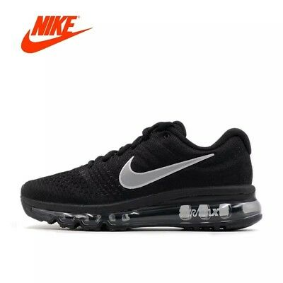 Nike Air Max 2017 Mens Black Running Shoe Anthracite Size 10