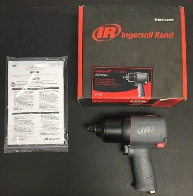 "Ingersoll Rand 2130 Impactool 1/2"" Drive Pneumatic Impact Wrench Air Tool NEW"