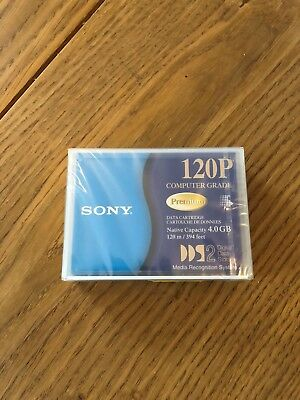 SONY DGD120P, DDS2 Data Cartridge, 4GB, NEU + OVP