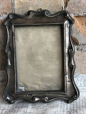 Antique Sterling Silver Picture Frame Hallmarked 1909