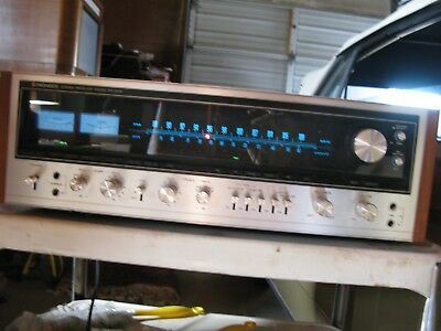 Pioneer SX-1010 Receiver, Sold As-Is Needs Servicing All Original