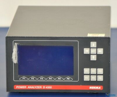 NORMA (Fluke) D4355 3-Phase Power Analyzer - NIST Calibrated with Warranty