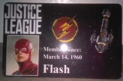 Novelty DC Justice League ID Badge Flash Cosplay Accessory others 4 sale