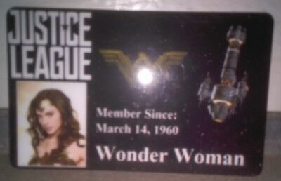 Novelty DC Justice League ID Badge Wonder Woman Cosplay Accessory others 4 sale