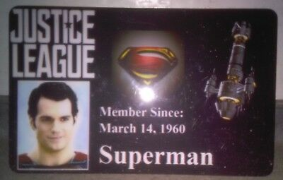 Novelty DC Justice League ID Badge Superman Cosplay Accessory others 4 sale