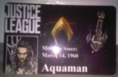 Novelty DC Justice League ID Badge Aquaman Cosplay Accessory others 4 sale