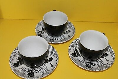 Homemaker Cups and Saucers (3)