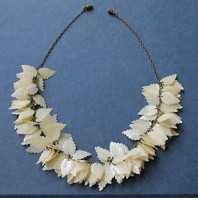 Necklace Vintage 'Leaves'