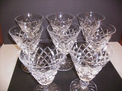 """Waterford Crystal Water Glasses - Set Of 8 -""""alana"""""""