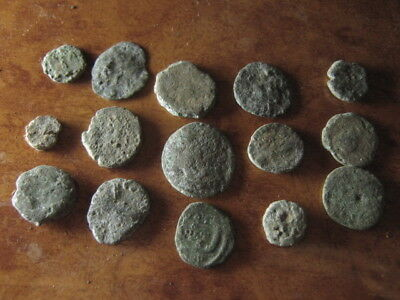 Ancient roman coins lot 34