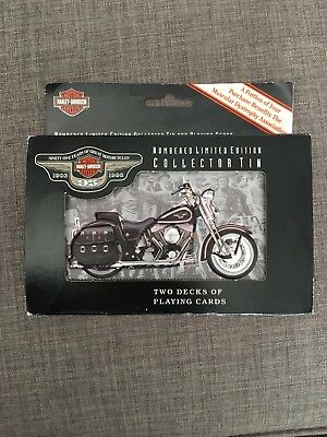 Harley Davidson 95th Anniversary 1903 Pride &Tradition playing cards Ltd edition