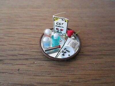 Dollhouse Miniature Canister Set Beach Themed 1:12 Well Made by Concord