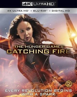 THE HUNGER GAMES CATCHING FIRE New Sealed UHD Ultra HD + Blu-ray
