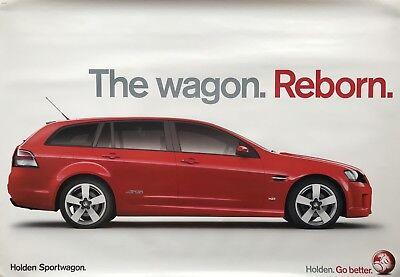 Holden VE Commodore Sportswagon  SS V8 Showroom Poster See also brochure listed