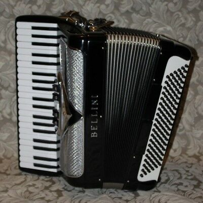 Accordion Bellini 120 Bass Made In Italy