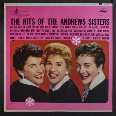ANDREWS SISTERS: The Hits Of LP (Mono) Vocalists